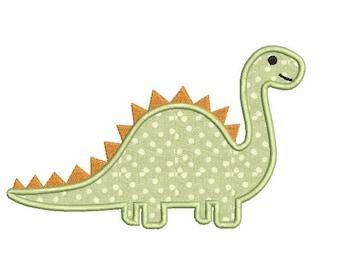 Animal Embroidery Machine Applique Design - Dinosaur embroidery design - Dino Applique - Applique for boys - INSTANT DOWNLOAD - 4X4 5X7 6X10