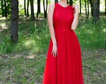 ElviaHandmade red dress