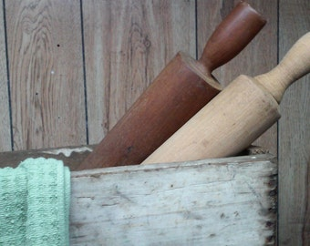 Antique Wood Rolling Pin