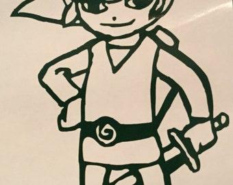 Legend of Zelda: Link Decal