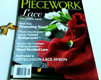 May/June 2012 Piecework Magazine Lace 5th Annual Issue