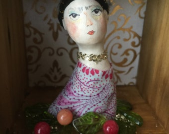 Little Frida Art Doll