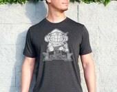 Build Something Mens Tshirt - DIY Geek Tshirt, Mens Graphic Tee - Maker Crafter Engineer Shirt, Dad Gift, Husband Gift