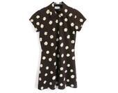 90s Joule RIOT GRRRL Flower Print MINI Dress