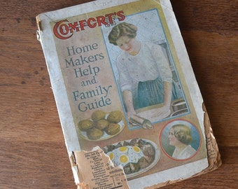 1919 Comfort's Home Makers Help and Family Guide