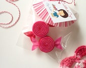 Valentine's Day Felt Candy (Set of 2) - Decoration, Gifts, Goodie Bags, Parties, Sweetheart Gift, Banner/Bunting, Tea Party, I Love You