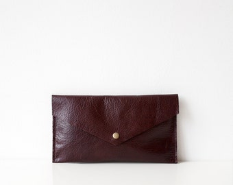 Luxury Brown Leather Pouch No. ES-3003