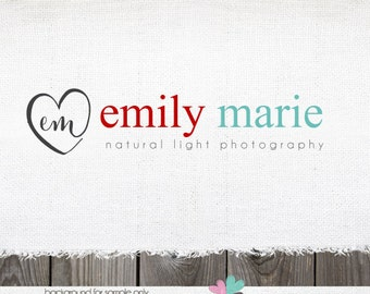 logo designs Premade logo Photography logo Sewing Logo Blogger logo blog logo jewelry logo photography logos and watermarks logos heart logo