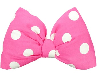 Minnie Mouse Ears Minnie Mouse Bow Minnie Ears Pink Women's Minnie Mouse Costume Girls Minnie Mouse Headband Baby Toddler Hot Pink Poofy Bow