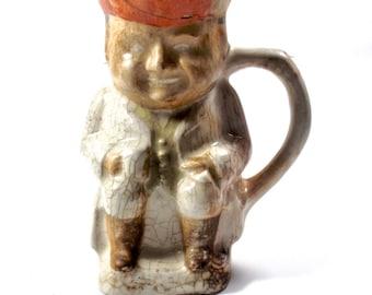 1700s Pearlware Toby jug