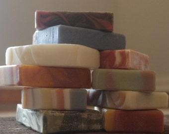 Five Bar Soap Assortment, Choose your Favorites