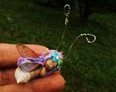 sweet fairy fairie shell  tiny  ooak
