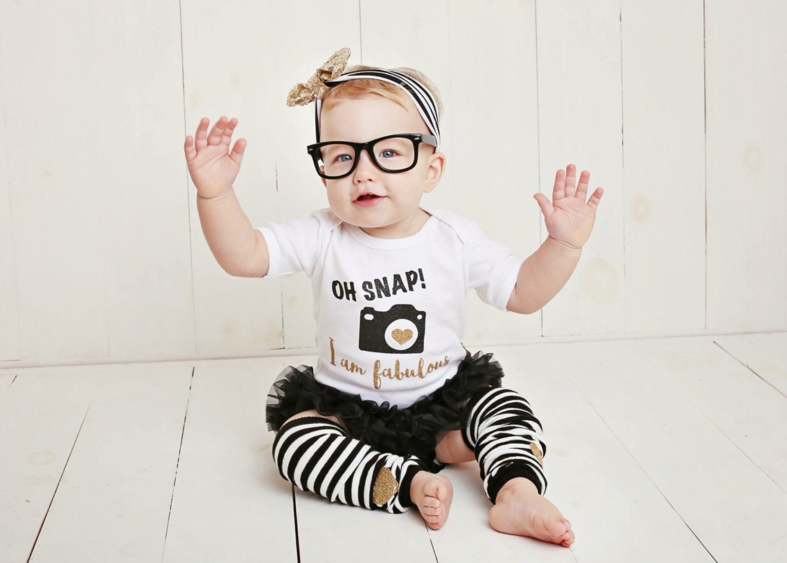Baby Girl Clothes Hipster Funny Baby Gift Baby Clothes