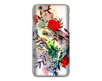 iPhone 6 case - iPhone case -  Case for the iphone - frog phone case - Cell Phone Case - Phone cover - iPhone 6 cover