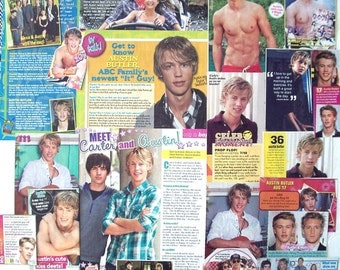 AUSTIN BUTLER ~ The Shannara Chronicles, The Carrie Diaries, Switched At Birth, Zoey 101 ~ Color Clippings, Article for Scrapbooking