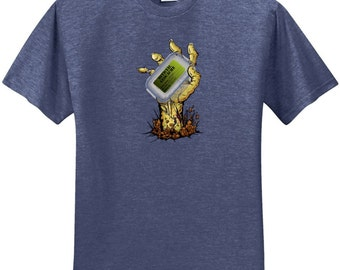 "SALE! Youth ""Zombie"" Geocaching T-shirt"