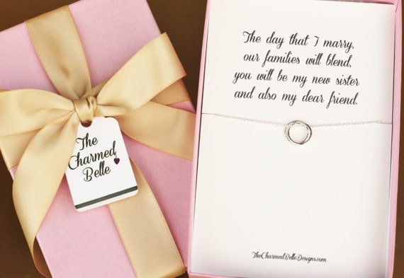 Wedding Gifts For Sister In Law: Sister In Law New Sister Wedding Necklace Wedding Gift