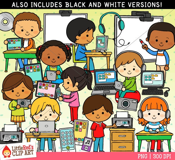 Educational Technology Clipart