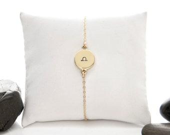 Zodiac Gifts, Zodiac Jewelry, Star Sign Gift, Zodiac Bracelet, Birthday Gift, Astrology Jewelry, Zodiac Sign, Horoscope Jewelry, b246m