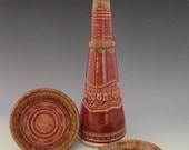 For Vicenzo: Custom One of a Kind Handmade Ceramic Olive Oil Bottle, Oil Cruet, Oil Dispenser by NorthWind Pottery