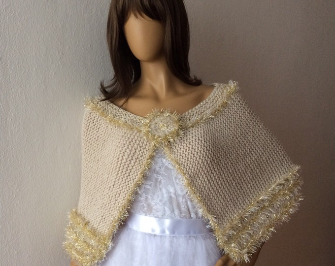 Gold shawl wedding