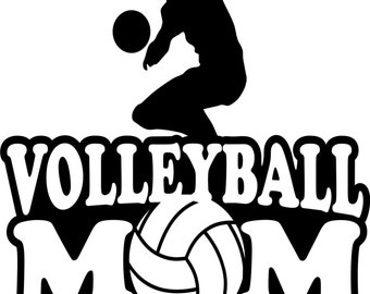 Volleyball Mom Hoodie/ Volleyball Mom Sweatshirt/ Volleyball Mom Clothing/ Volleyball Mom Gift/ Volleyball/ Volleyball Mom Hoodie Sweatshirt