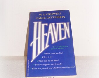 Heaven Religious Book William Criswell & Paige Patterson Paperback Book Christian Religious Read Hymns Poems Christian Reading