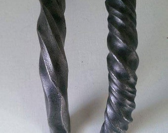 Forged assorted twisted handles