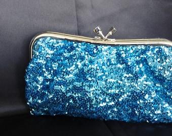 sequin clutch  teal clutch  gold clutch silver clutch  wedding clutch bridesmaids clutch formal clutch prom clutch