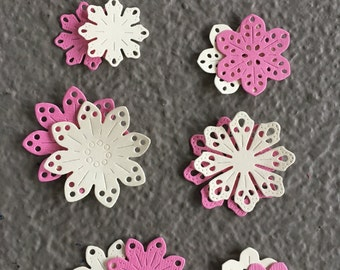 Pretty Petals Die Cut Flowers