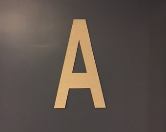 """24"""" Extra Large Letter, Large Wood Letters, Available in letters A-Z"""