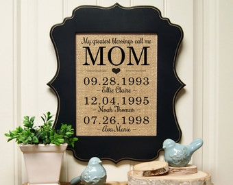 Mother's Day | Personalized Mothers Day | Mother of the Bride | Mother of the Groom | Mothers Day Family Tree | Mommy | Mothers Day Plaque