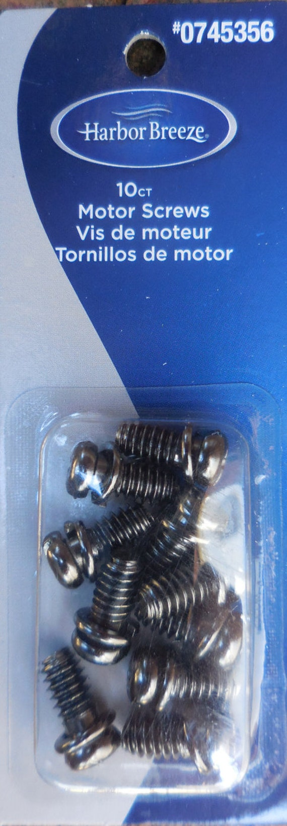 Harbor Breeze Motor Screws 10 Pack Black Ceiling Fan Universal