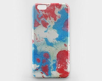 iPhone 8 Case Watercolor iPhone X Case iPhone 6 7 Plus Case iPhone 8 Plus Paint Phone Case iPhone 5 Red iPhone 6 iPhone 4S Case Galaxy S7 S8