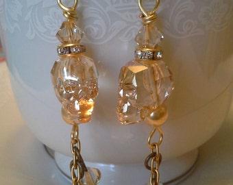 Golden Shadow Crystal Skulls  E  278