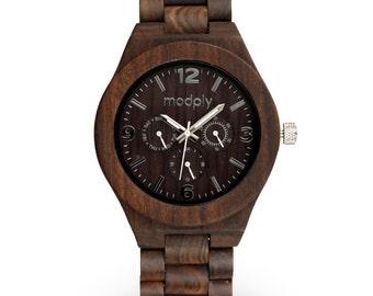 watches custom engraved wooden watch black mens watch black wood watch personalized watch handmade watch custom engraving custom watch watch