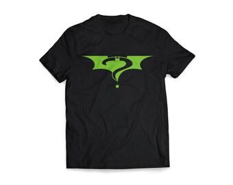 Batman/Riddler Black Shirt, Batman Forever, Batman Fan, Geek Shirt, Batman Lover, Batman Shirt, Riddler Shirt, Custom, original, Superhero