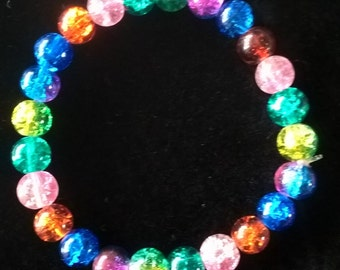 Glass Bead Bangle
