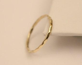 18k stack ring, 18k wedding ring, 18k rose gold ring, 18k yellow gold ring, 18k thumb ring, 18k band ring, 18k white gold ring,18k gold ring