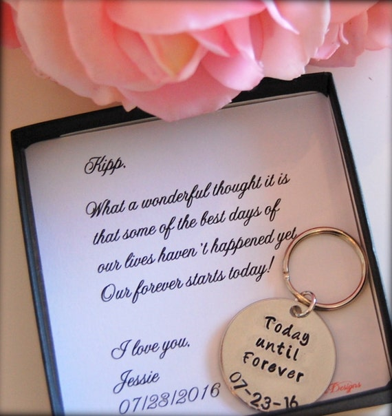Groom Gift From Bride Bride To GROOM Gift On Wedding Day