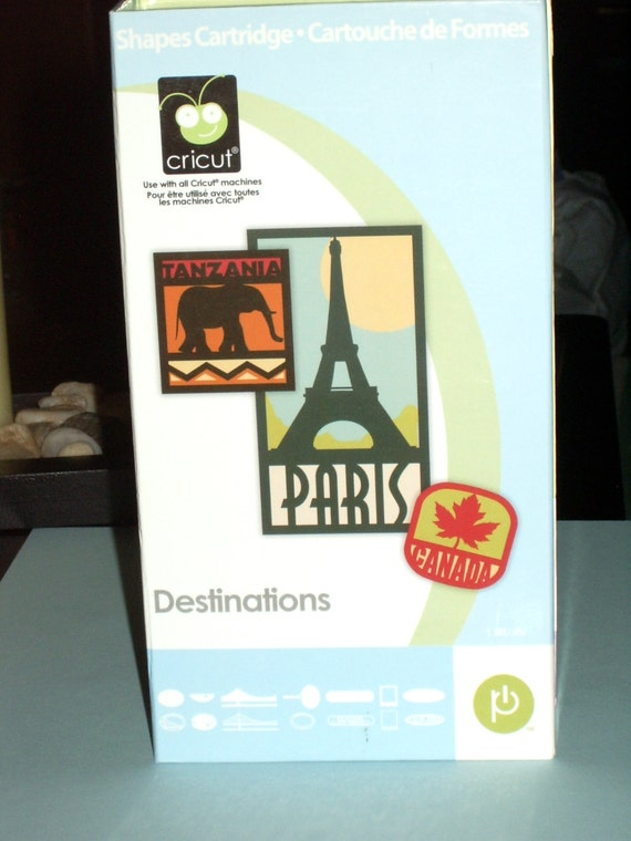 Used Cricut Cartridges Destinations Cartridge of by ...