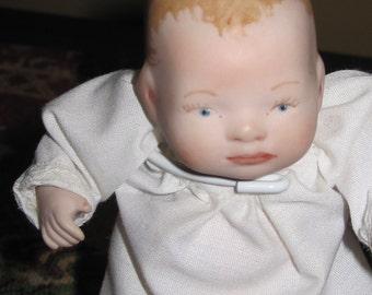 Miniature Vintage Porcelain Baby