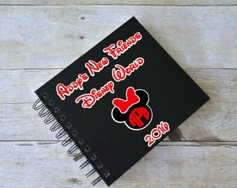 Disney Autograph Book, Personalized Disney Autograph Book