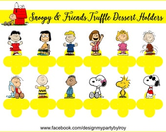 SNOOPY, Snoopy Party Decor, Snoopy Party Favors,Snoopy Supplies,Snoopy Printable,Snoopy Candy Holders,Snoopy Cups, Snoopy Chocolate Holders.