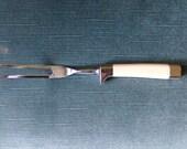 Bakelite Cutlery serving fork, Vintage serving fork, 1950 serving fork