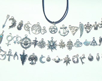 Charm Choker, Charm Choker Necklace, Choker Necklace, Choker, Charm Necklace, Choker Charm, Symbolic Choker, Grunge Choker, Charm Jewelry