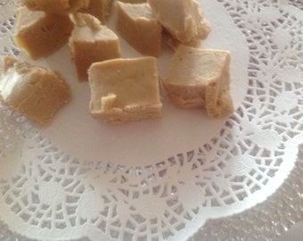 Gourmet peanut butter vegan fudge
