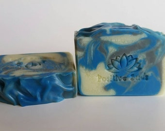 Cool Water | Handmade Soap | Artisan Soap | Men's Soap | Positive Suds