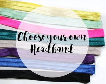 Elastic Headband - Headbands - Headbands for Women - Headbands for Short Hair - Womens Headbands - Headbands for Girls-  Stretchy Headband
