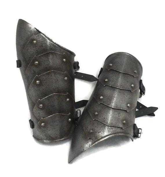 Larp Armor,larp bracers, cosplay armor,medieval armor,fantasy armor, Battleplate vambraces, bracers,